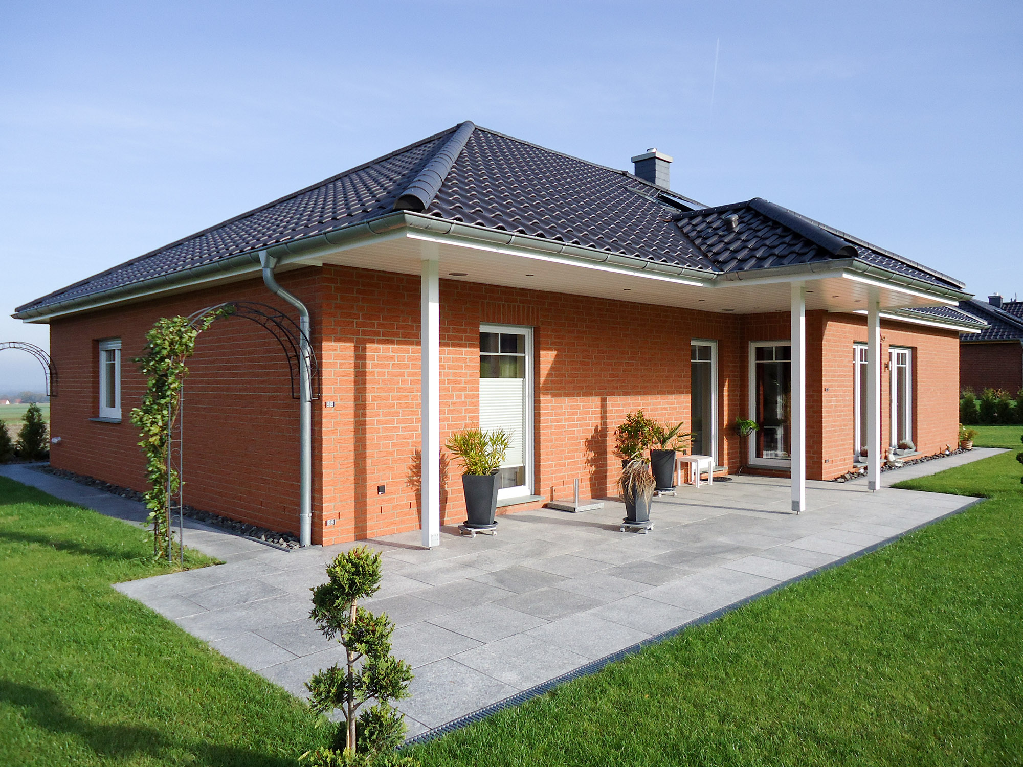 Bungalow in Bergholz mit Terrasse