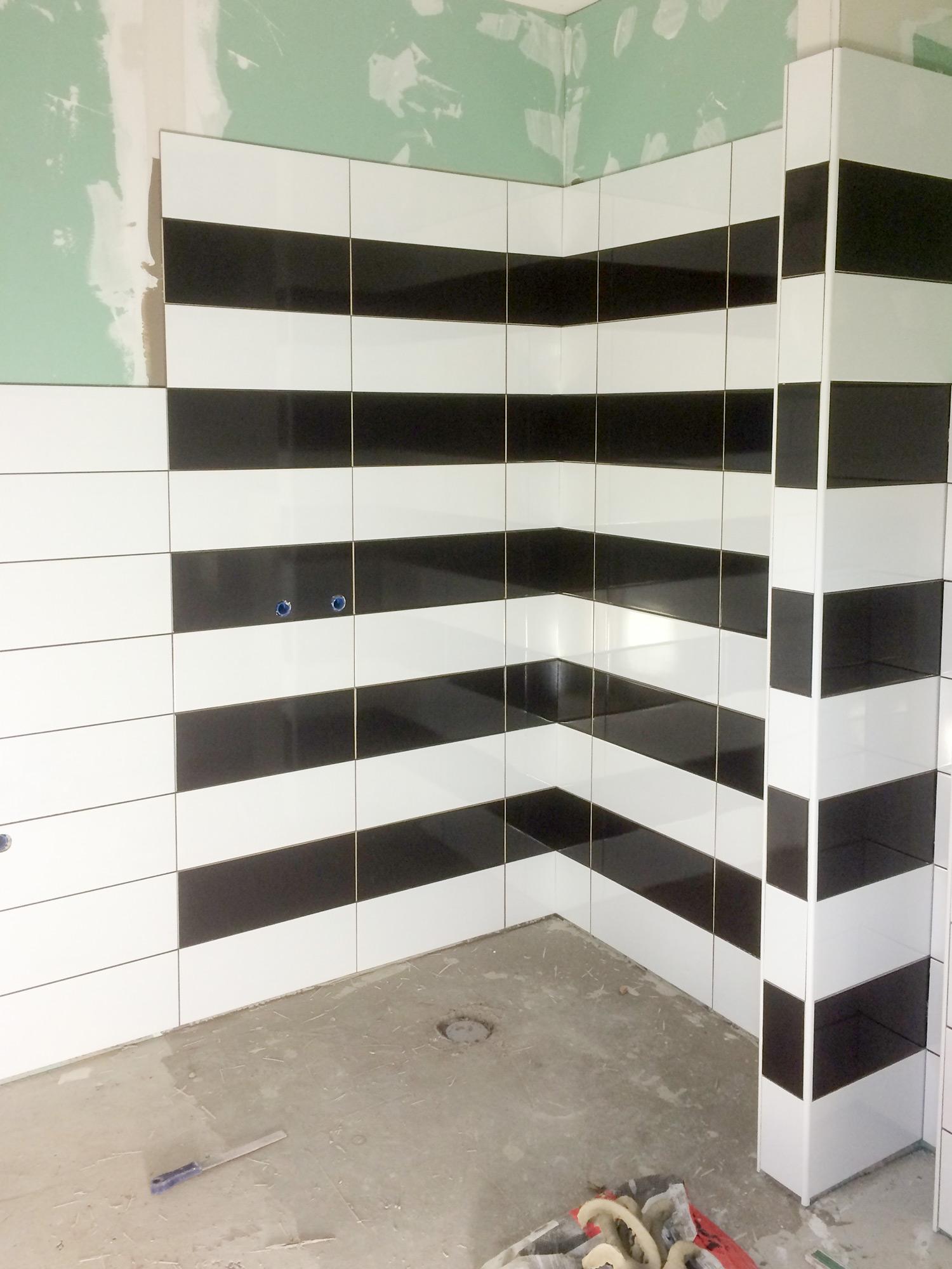 Fliesenarbeiten-Dusche