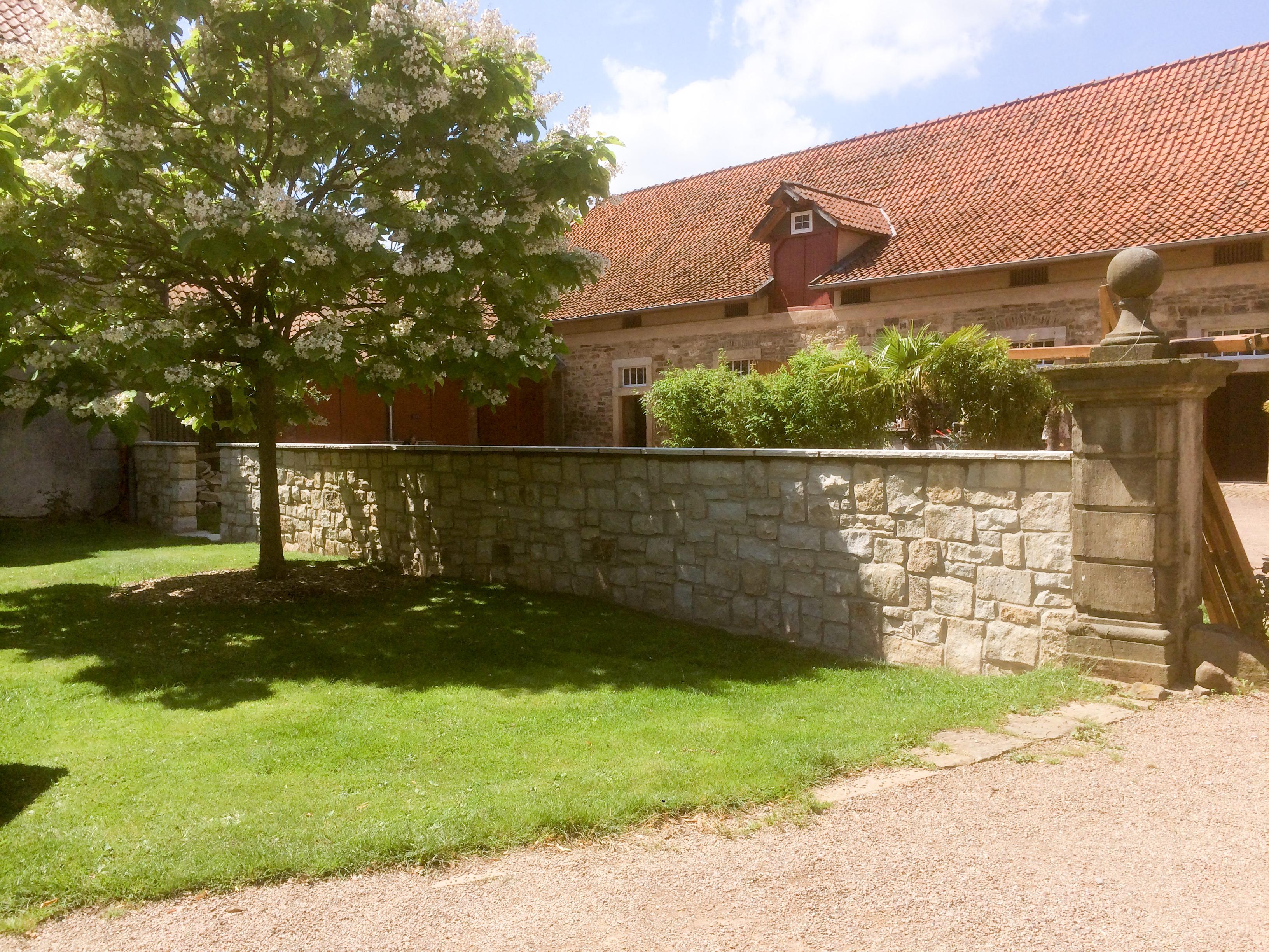 Sandsteinmauer Remeringhausen