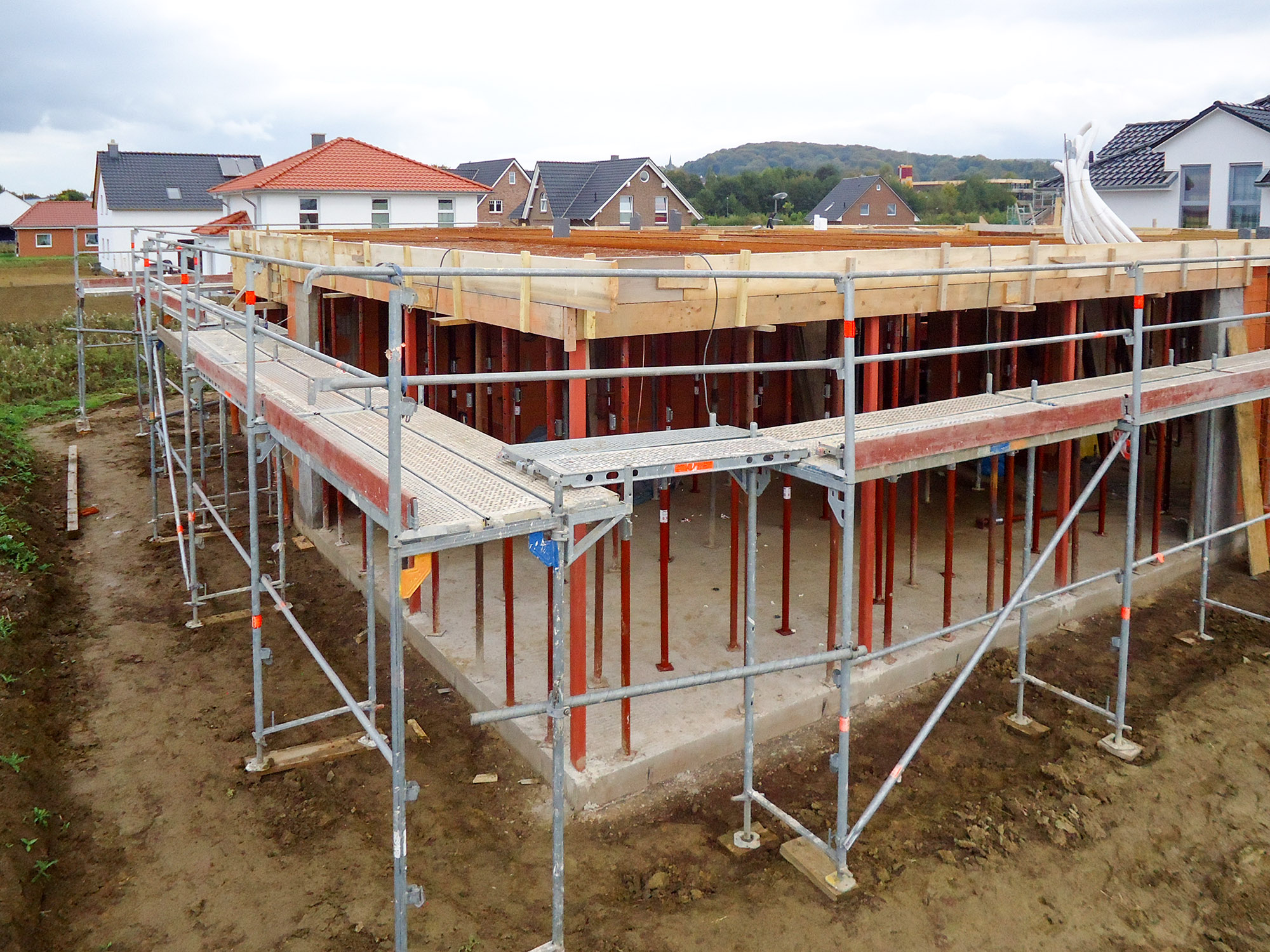 Bauhausstil in Bad Nenndorf - Decke