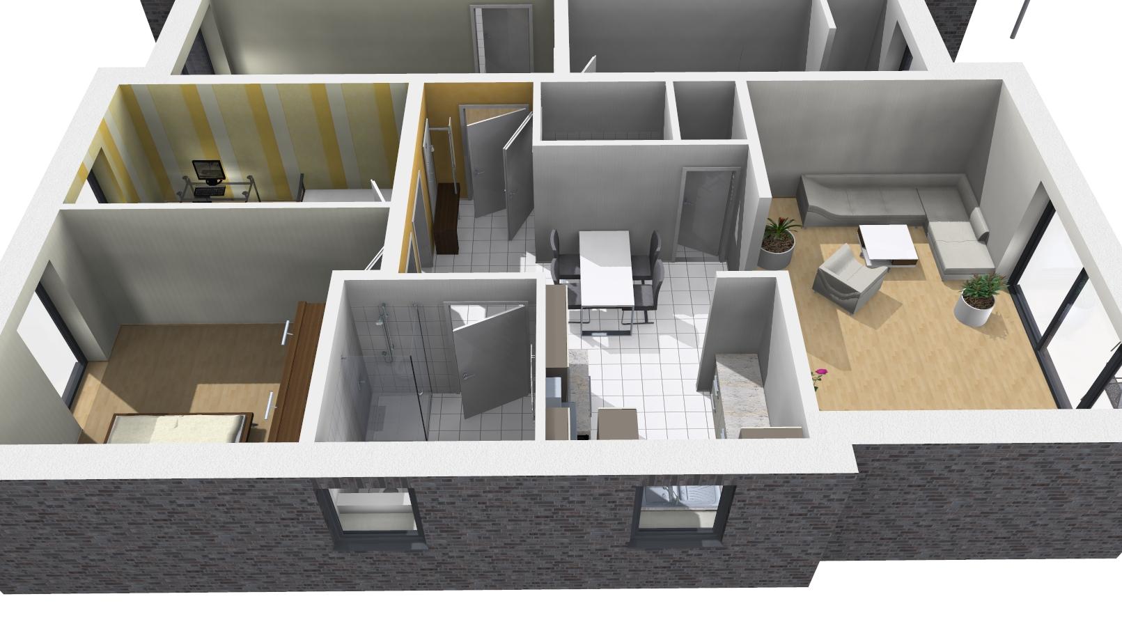 Wohnung 1_3D